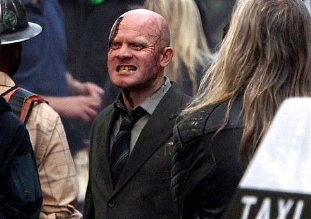 Michael Bay Zombie Attack on Set