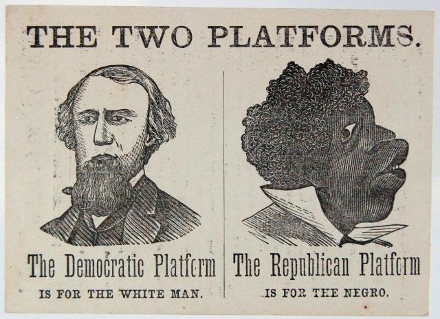 Obama Liberal Democrat Party is the party of institutionalized racism, and always has been.