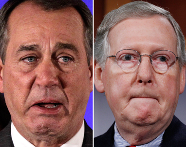 "Boehner and McConnell ""most unproductive congress in history"""