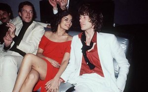 Mick & Bianca at Studio 54