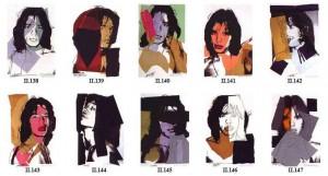"""Andy Warhol, """"Mick Jagger"""" 1975"""