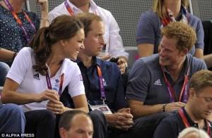 Kate, William, Harry.