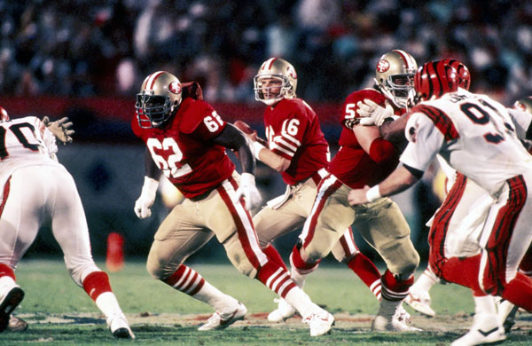 Joe Montana Super Bowl XXIII