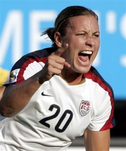 Abby Wambach is Player of the year