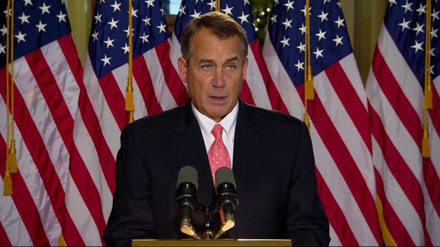 John Boehner was voted another two year term as Speaker of the House