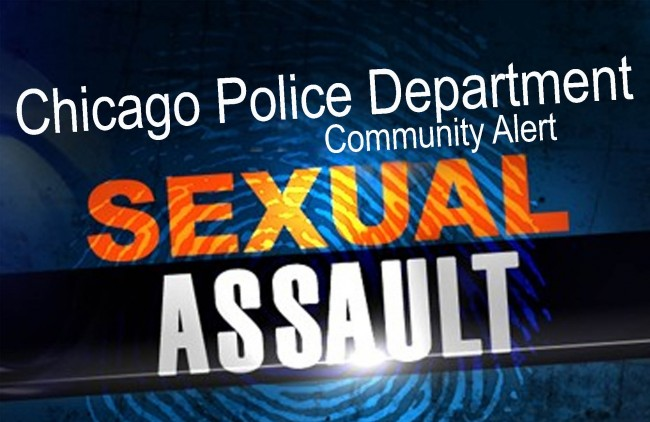 Chicago: community alert for criminal sexual assault
