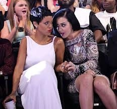 Rihanna and Katy Perry at odds