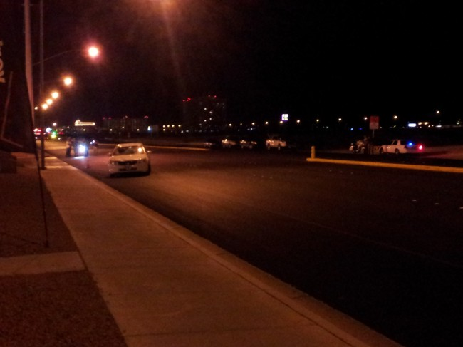 Las Vegas NV:  20-year-old male shot and killed by suspects on E. Harmon Ave.