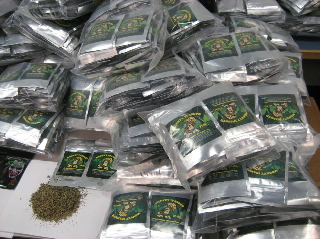 Chicago: Police Seize 1.2 million dollars of synthetic cannabis