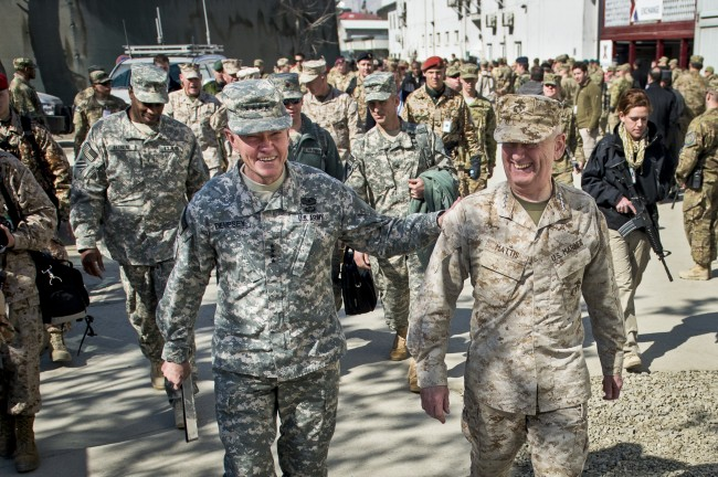 U.S. Military Coming Home From Afghanistan