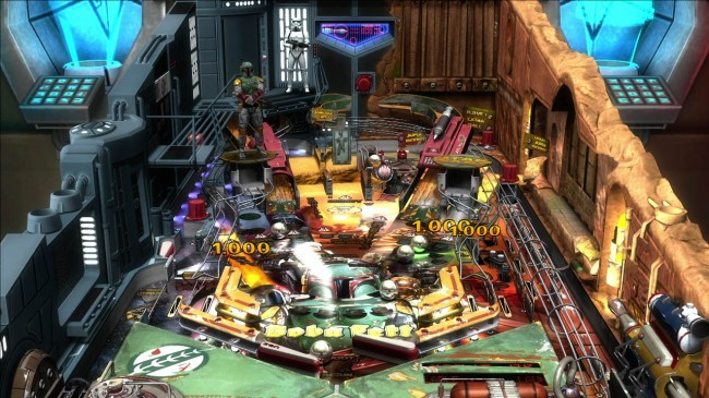 Star Wars announcing pinball by Zen Studios