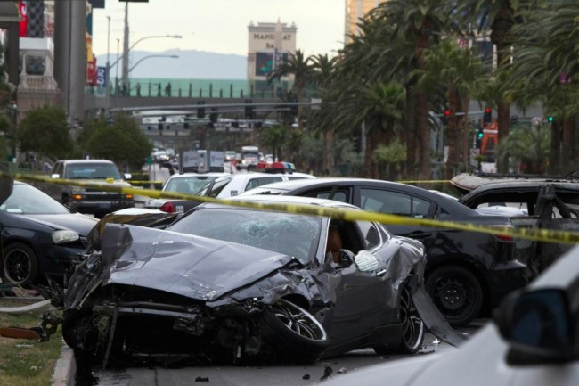 Las Vegas: Altercation In Valet Parking Lot Leads to Shooting at Intersection