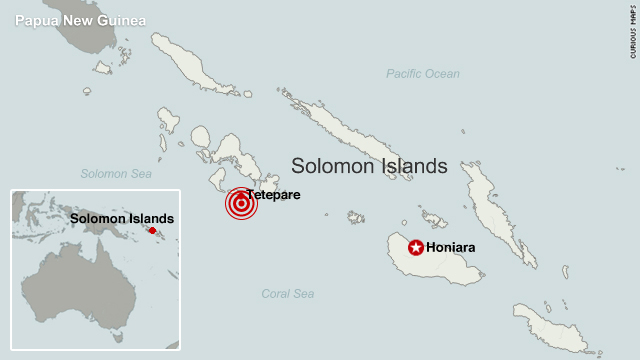 Solomon Islands Struck by Massive 8.0 Earthquake Totaling 11 Tremors and Tsunami Warning