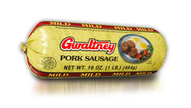 Gwaltney mild pork sausage roll recalled