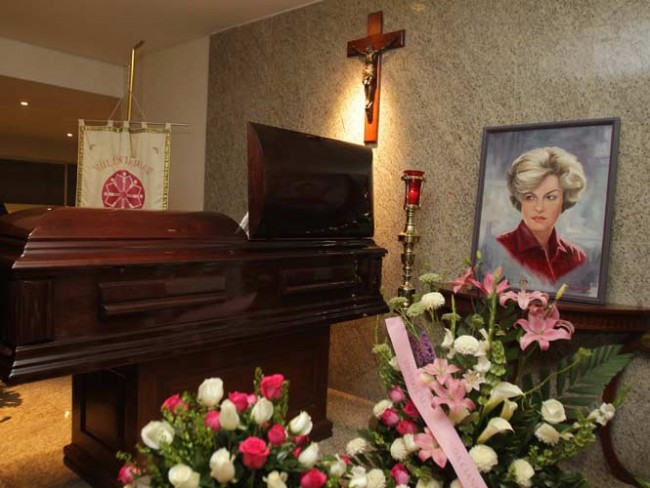 Carmen Montejo funeral