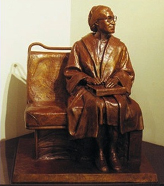 Rosa Parks Enshrined in Statuary Hall, but so is Alexander Stephens