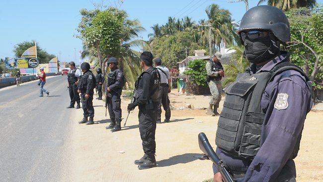 Six Spanish tourist rape in Acapulco Mexico