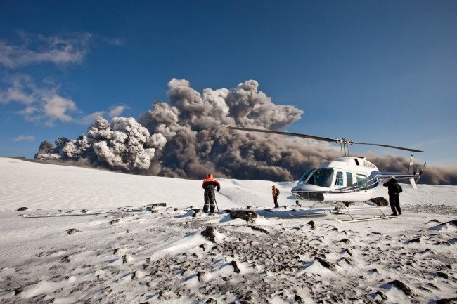 Iceland Prepares for Volcano Eruption