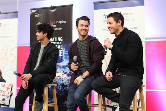 Jonas Brothers Surprise Inner City School - Launch We Day Minnesota