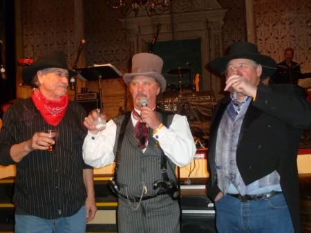 Steve Carrasco, Fred Dutton, Darrell Pratt
