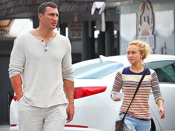 Hayden Panettiere engage to Klitschko Wladimir
