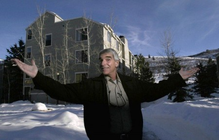 Porn star Harry Reems, shown in Park City, Utah, started selling real estate after he stopped abusing alcohol in the late 1980s. He also turned toward religion. (Myung J. Chun / Los Angeles Times)