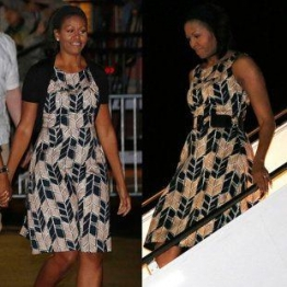 Michelle Obama in Target dress