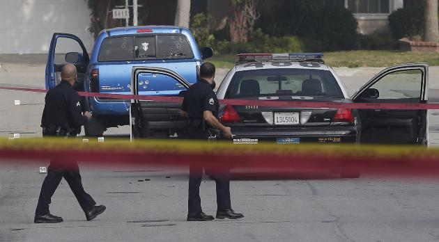 2 Women Shot during manhunt By LAPD Received $40,000