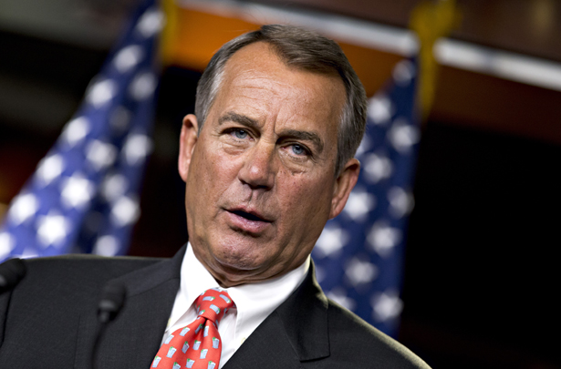 Boehner can't imagine supporting gay marriage