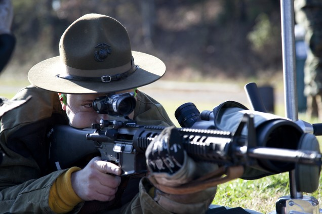 Shooting at Marine Base in Virginia