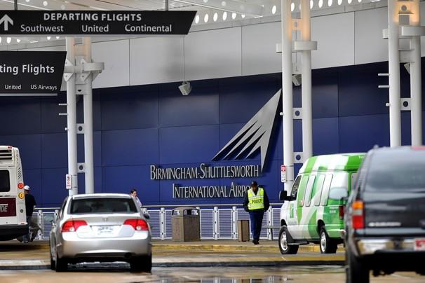 Birmingham Alabama by Airport