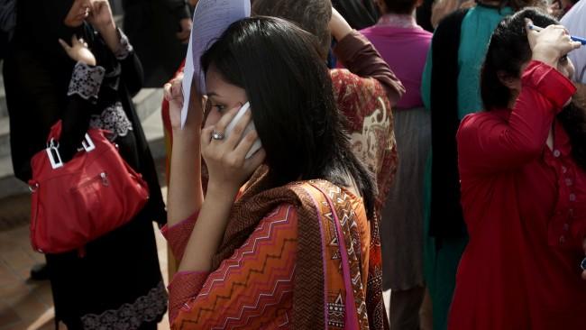 7.5 magnitude earthquake struck Iran 50 miles from Pakistan