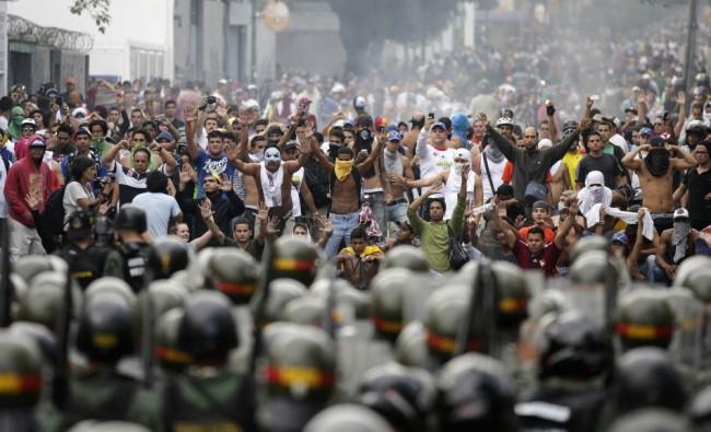 Venezuelan Post-election turns violent leaving 7 people dead