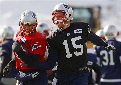 Ryan Mallett Plays Behind Brady in 2013?