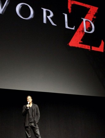 Brad Pitt and Chris Pine at Cinemacon Las Vegas