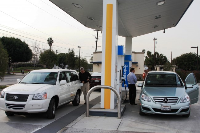 Consumption Makes Hydrogen Fuel-cell Stations potential Infrastructure program