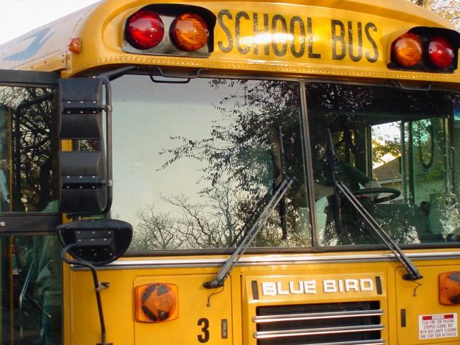 Newport Elementary School Bus Carrying 25 Children Overturns