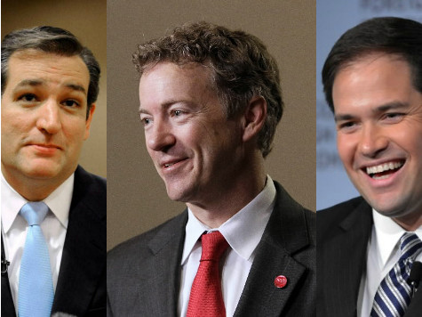 Paul, Rubio, and Cruz should be taken behind the woodshed and whipped