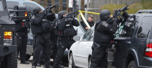 Police Gunfight Explosions Reported in Watertown, Massachusett