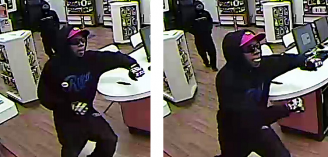 Las Vegas: Suspect wanted for robbery at local business
