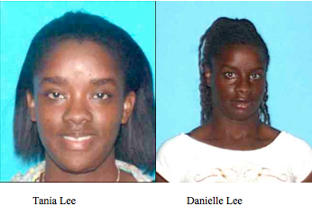 Los Angeles: Two Critical Missing Women Danielle and Tania Lee