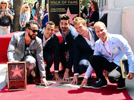 Backstreet Boys get star on Hollywood Walk of Fame and preview new album