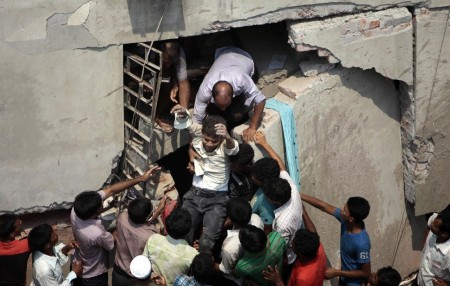 Bangladesh Building Collapses Killing Over 100