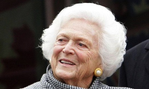 Barbara Bush Says The Country's Had Enough Bushes