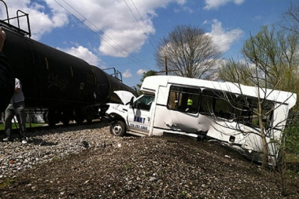 Train vs. Bus Collision in Evans City, Pennsylvania