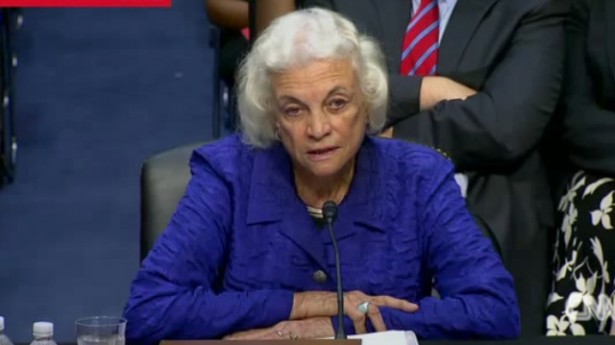 Sandra Day O'Connor Regrets 2000 Involvement in Election