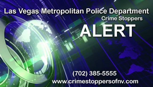 Las Vegas: Detectives seek public's assistance locating arm and dangerous suspect