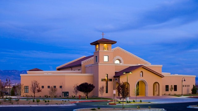 Albuquerque church choir members stabbed at the end of mass