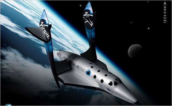 Spaceship II Makes Powered Flight