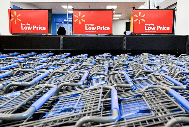 Wal-Mart Loses Revenues to Bad Weather
